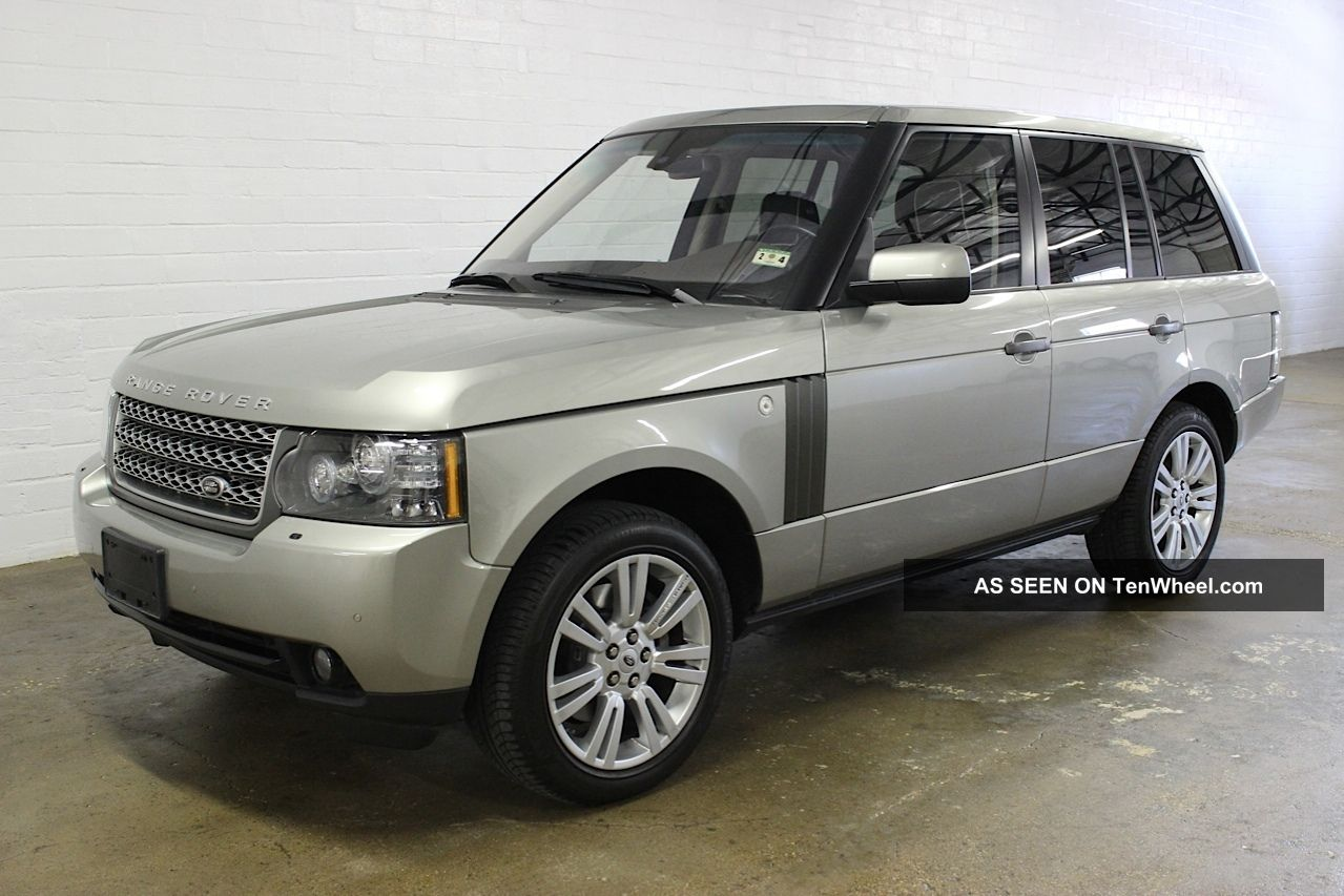 2010 land rover range rover hse lux pkg heated cooled seats loaded. Black Bedroom Furniture Sets. Home Design Ideas
