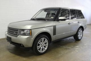 2010 Land Rover Range Rover Hse Lux Pkg Heated / Cooled Seats Loaded photo