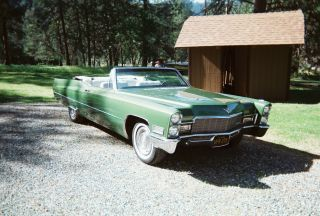 1968 Cadillac Deville Base Convertible 2 - Door 7.  7l photo