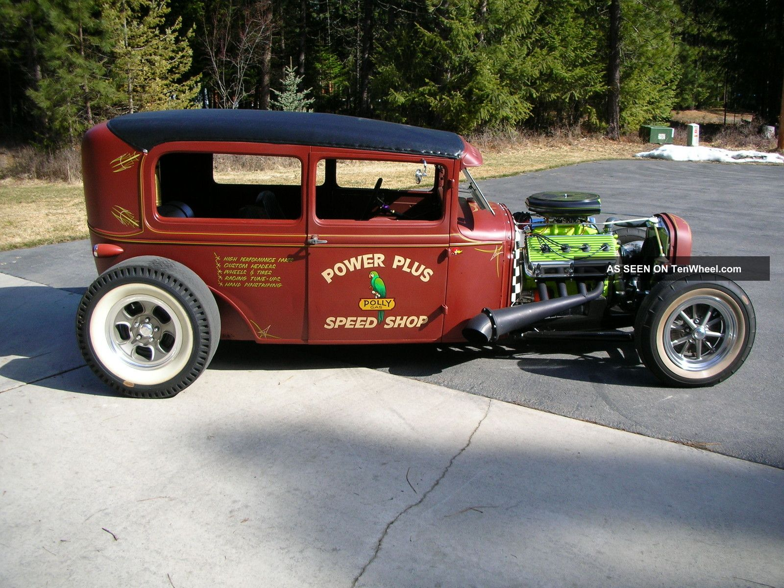 Ford A Pick Up 1930 Hot Rod.html | Autos Post