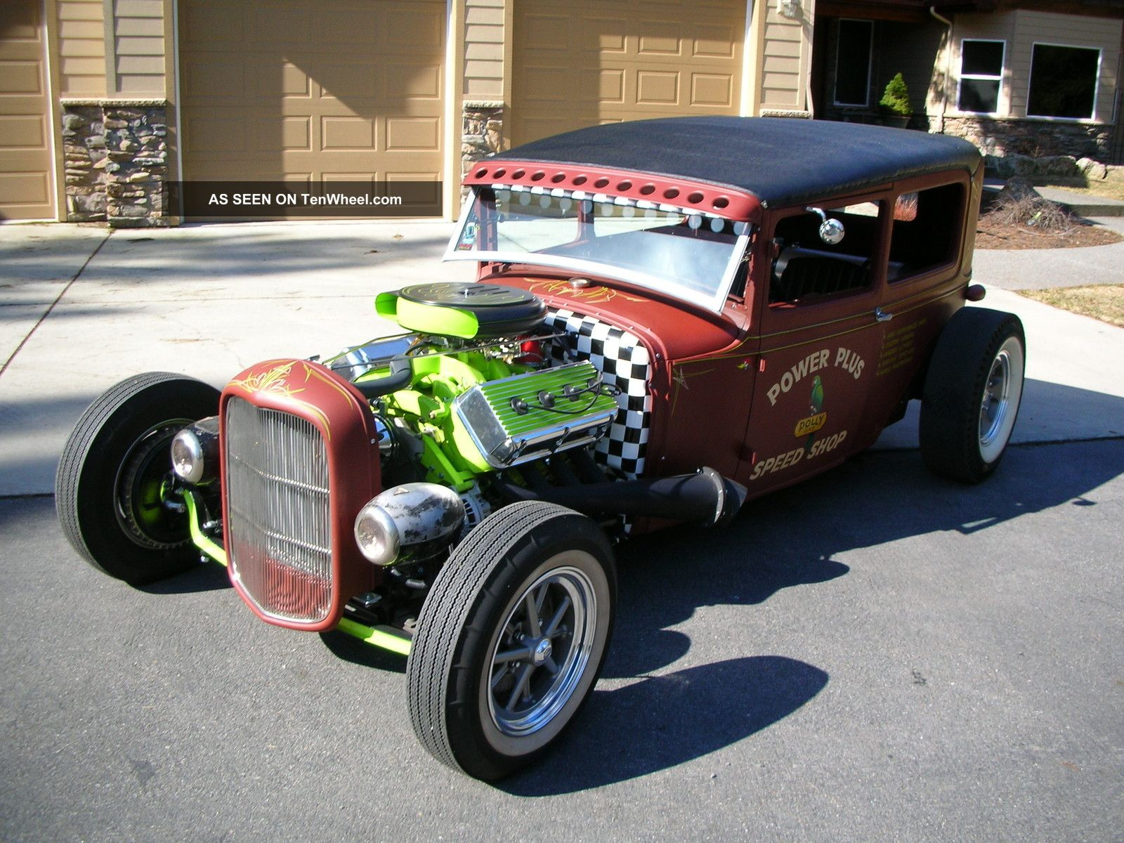 1930 ford model a rat rod pro bult all the good stuff 392. Black Bedroom Furniture Sets. Home Design Ideas