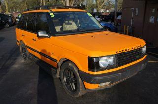 2001 Land Rover Range Rover Hse Sport Utility 4 - Door 4.  6l photo