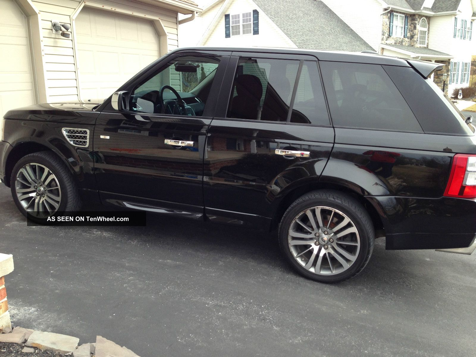 Used 2011 Land Rover Range Rover Supercharged Suv Edmunds