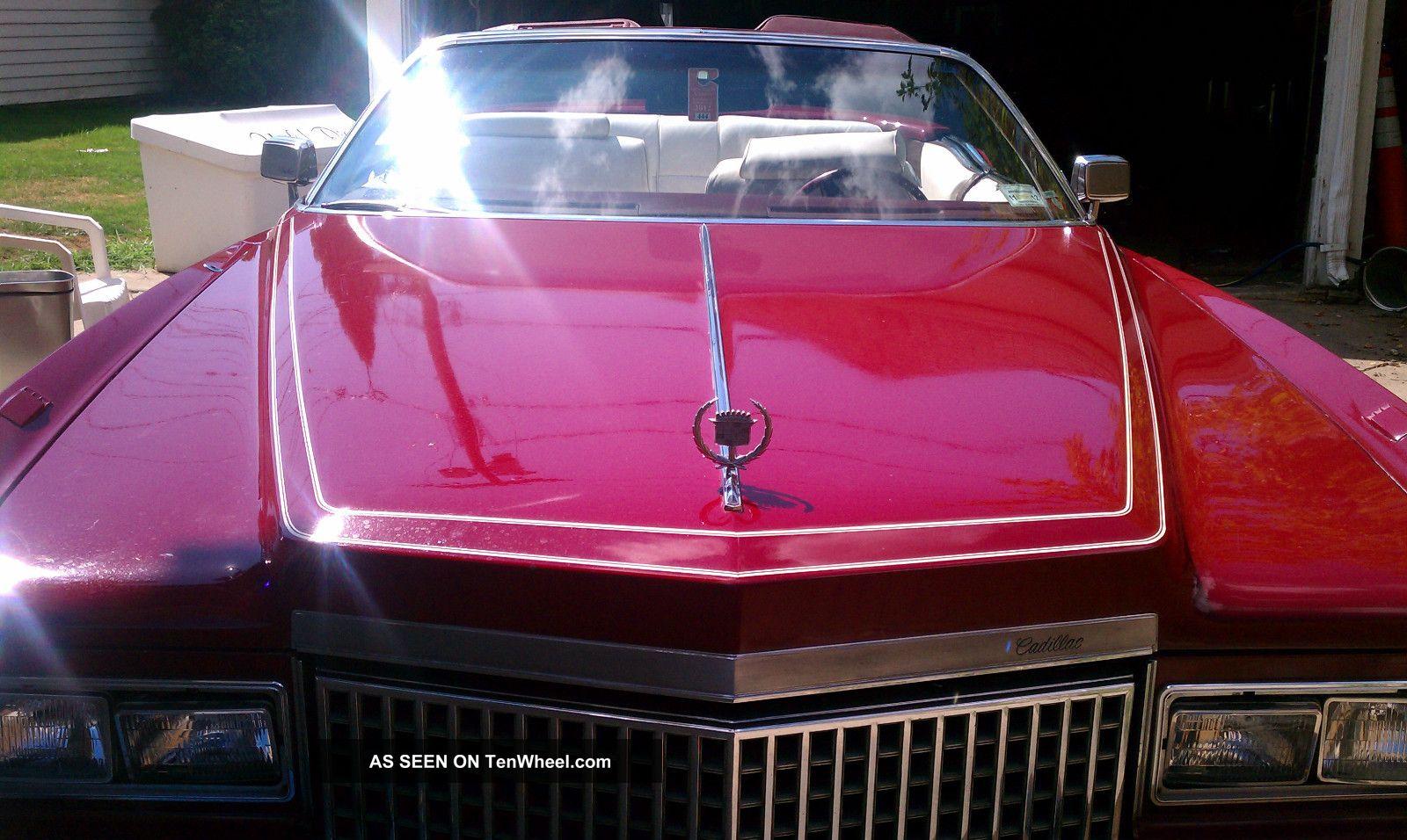 1975 Cadillac Eldorado Convertible 2 - Door Loaded Eldorado photo