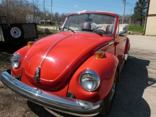 1979 Volkswagen Beetle Base Convertible 2 - Door 1.  6l photo