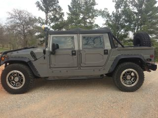 2000 Am General Hummer Sport Utility 4 - Door 6.  5l photo
