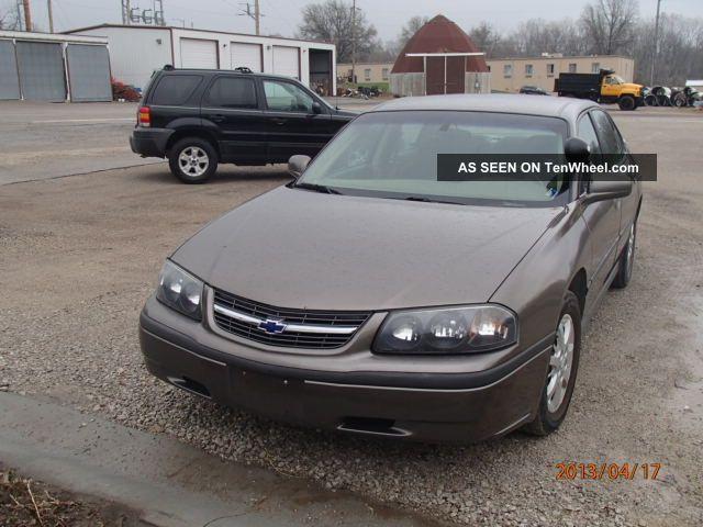 2001 Chevrolet Impala Base Sedan 4 - Door 3.  8l Impala photo