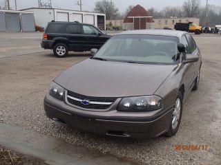 2001 Chevrolet Impala Base Sedan 4 - Door 3.  8l photo