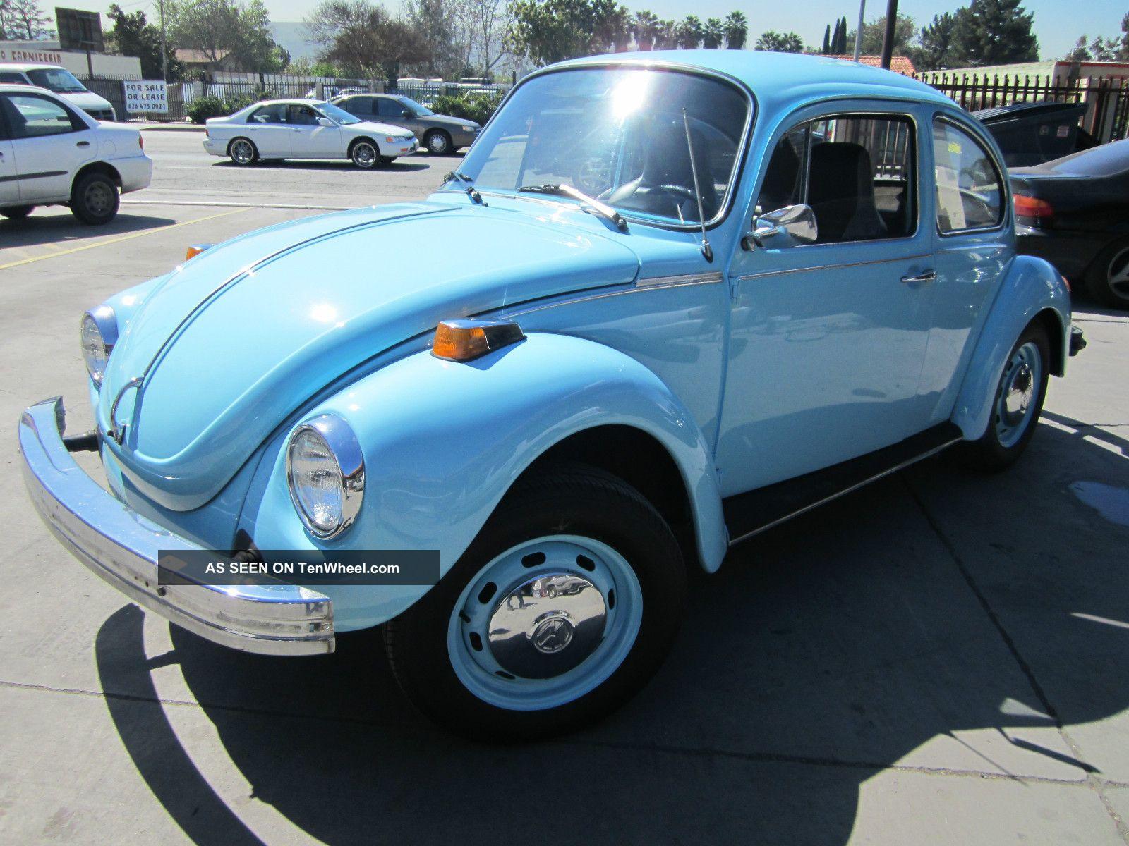 1974 Volkswagen Beetle Base Sedan 2 Door 1 6l