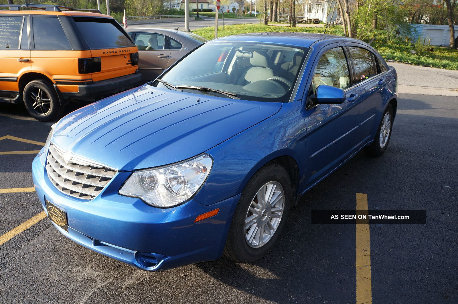 Chrysler Sebring Touring Sedan Door L Lgw on 2007 Chrysler Sebring Touring Sedan