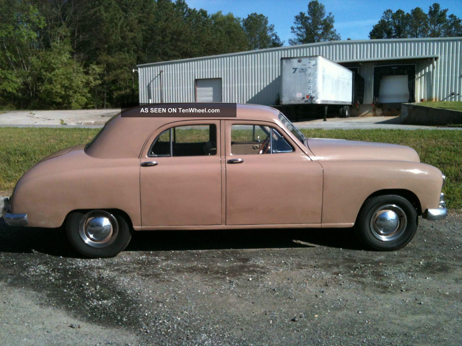 1948 kaiser car interior design for 1948 dodge deluxe 4 door