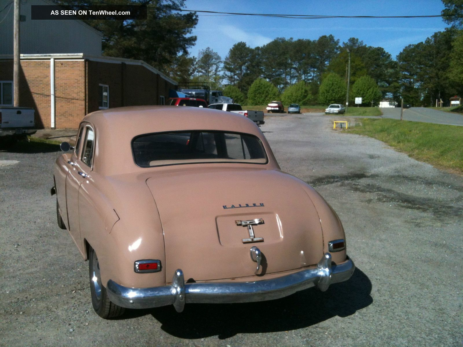 1948 kaiser special 4 door sedan 226 cubic inch flathead 6 other. Cars Review. Best American Auto & Cars Review