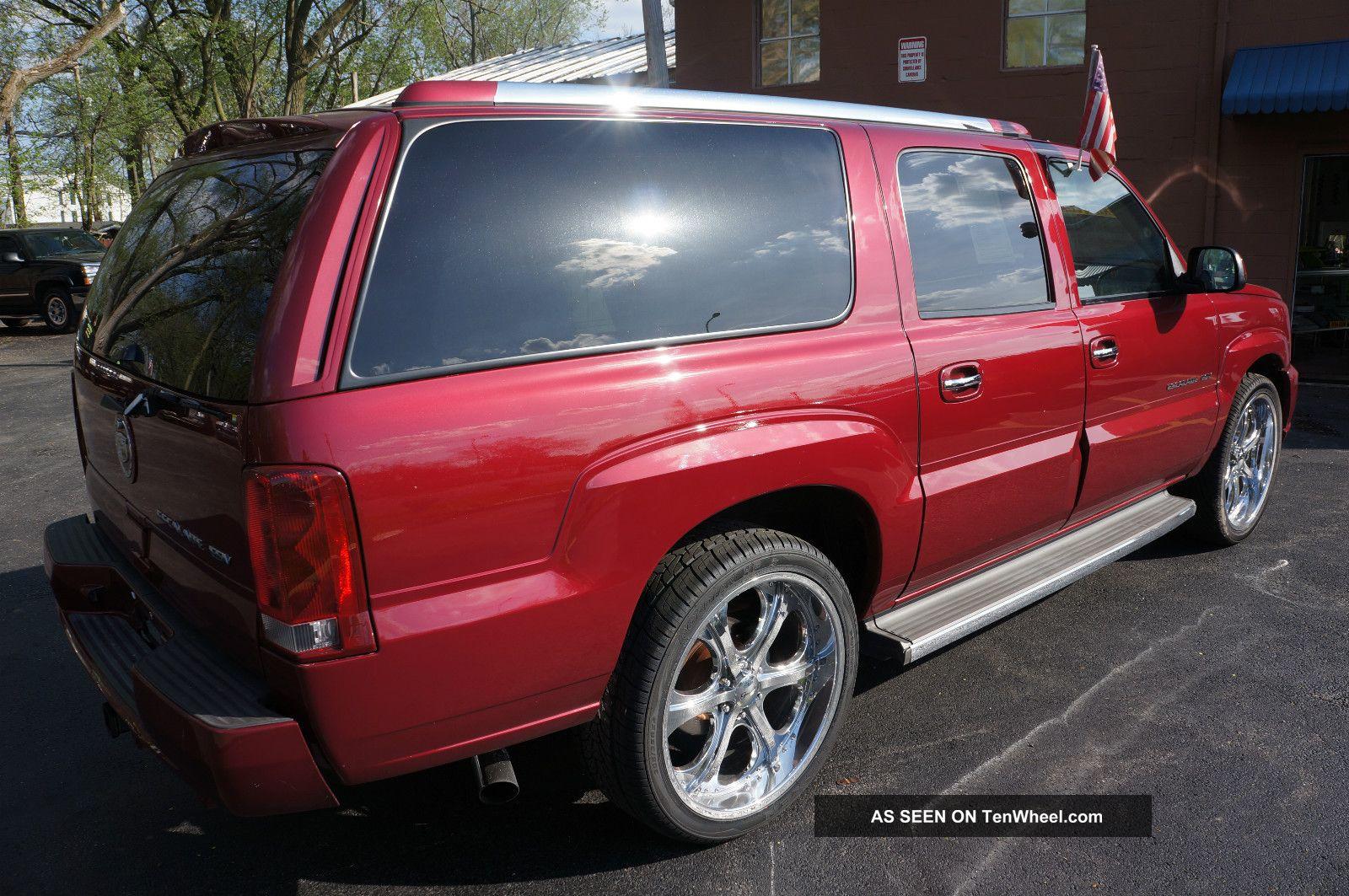 2005 Cadillac Escalade Esv Sport Utility 4 Door 6 0l