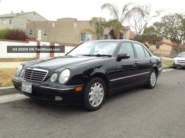 2001 mercedes benz e320 title 88k for 2001 mercedes benz e320