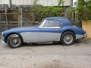 1965 Austin Healey 3000 Lll In Storage Over 25 Years Runs Bj8 2+2 photo