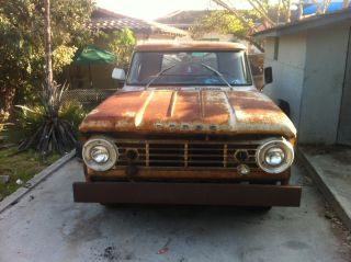 1967 Dodge D200 Rat Rod Or photo
