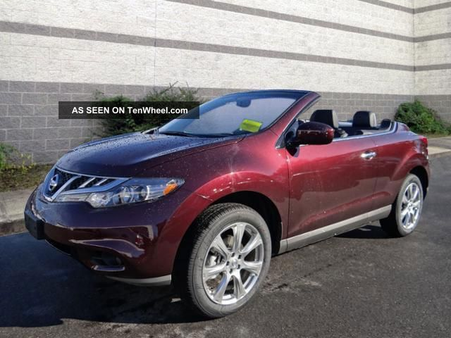 2014 Murano Crosscabriolet,  Midnight Garnet / Black Top Murano photo