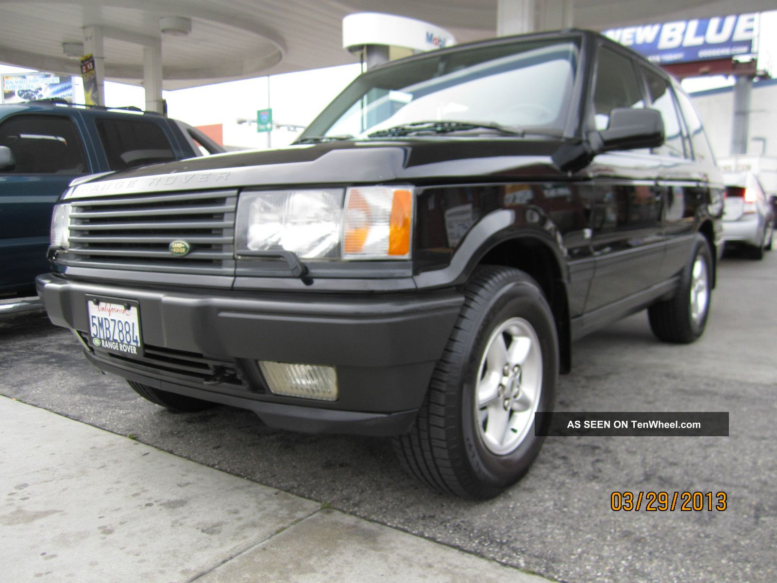 2000 land rover range rover se sport utility 4 door 4 0l. Black Bedroom Furniture Sets. Home Design Ideas