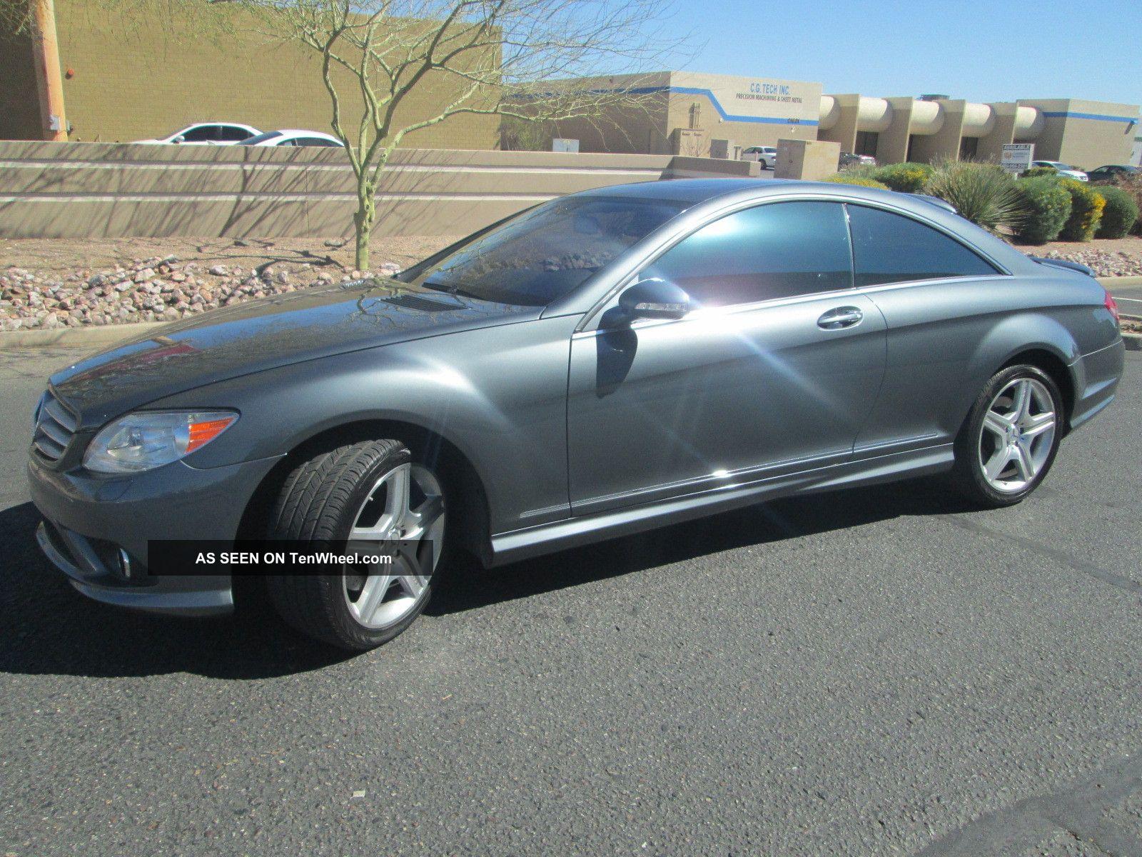 2009 mercedes benz cl550 4matic coupe 2 door 5 5l awd for 2009 mercedes benz cl550