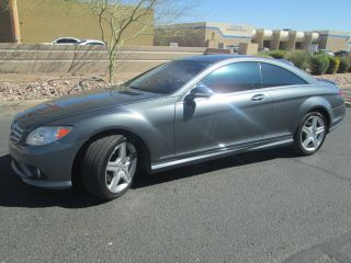 2009 Mercedes - Benz Cl550 4matic Coupe 2 - Door 5.  5l Awd Amg Pkg Runs Perfectly photo