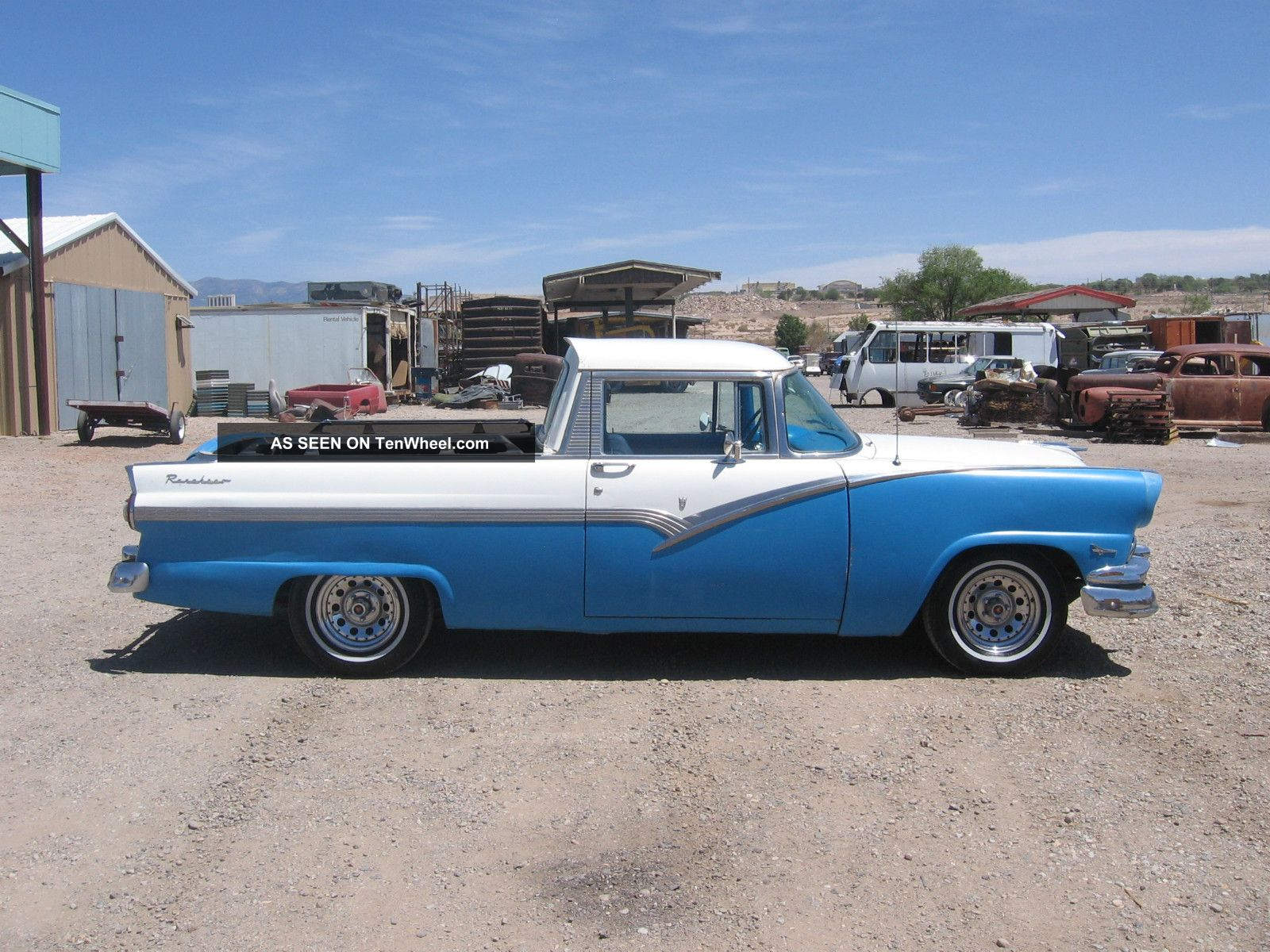1956 Ford Ranchero Old Custom Pick Up Ranchero photo