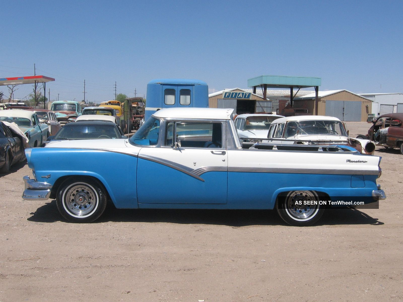 1956 Ford Ranchero Old Custom