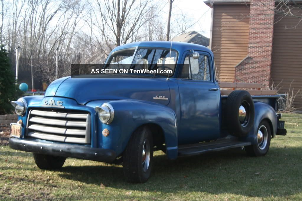 1953 5 window gmc pickup