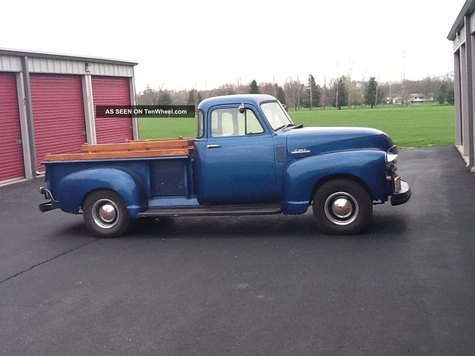 1953 5 window gmc pickup for 1953 5 window