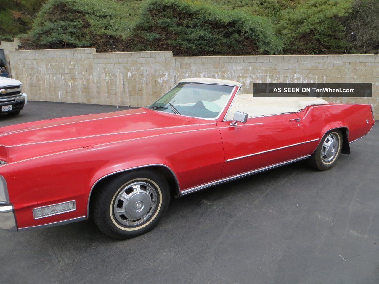 Mustang Dorado >> 1968 Cadillac El Dorado Chop Top