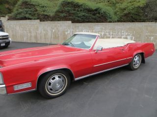 1968 Cadillac El Dorado Chop Top photo