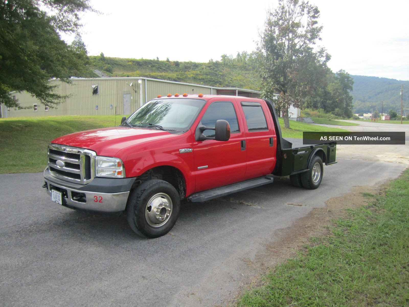 2006 ford f 350 xlt 4x4 drw flatbed crew cab powerstroke diesel. Black Bedroom Furniture Sets. Home Design Ideas