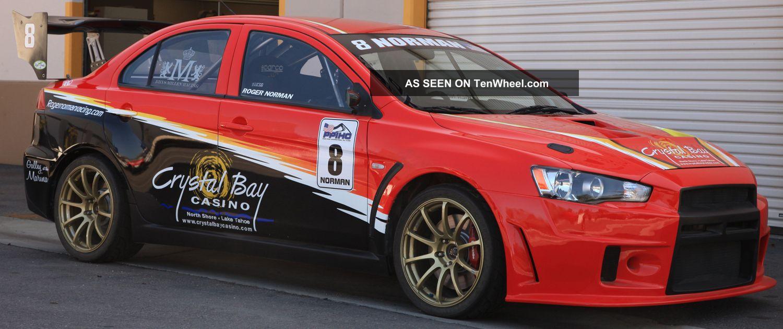 2008 mitsubishi lancer evolution rally car