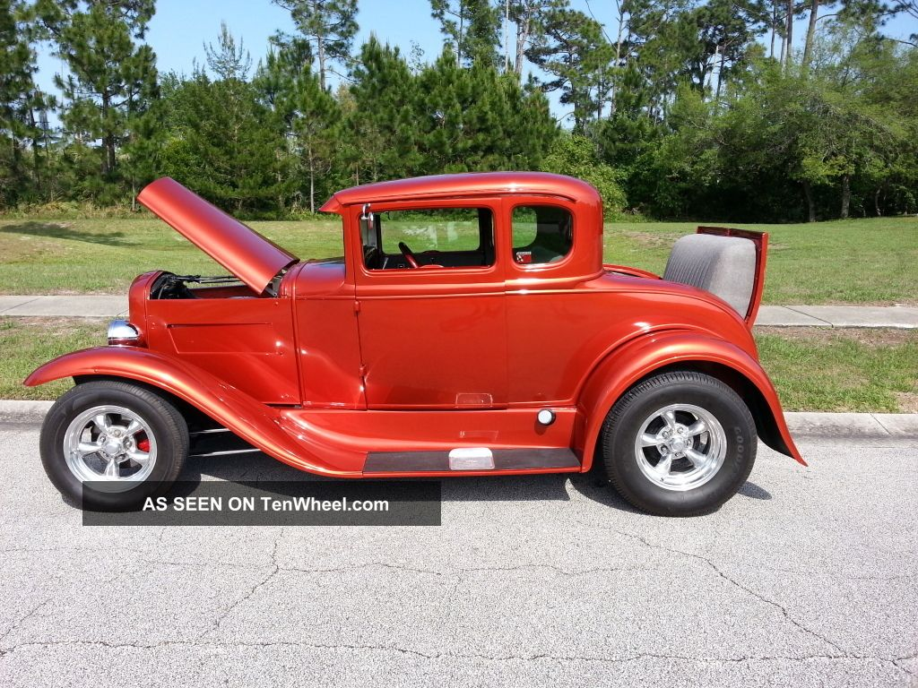 1931 steel body ford 5 window