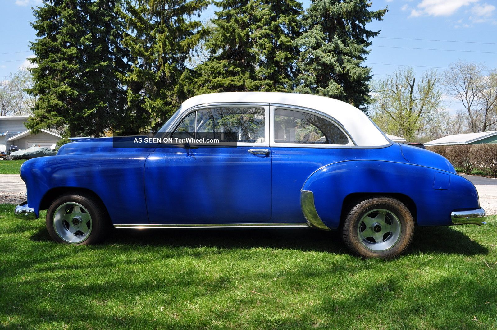 1949 chevy 2 door coupe