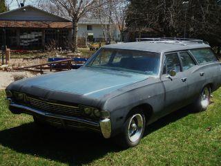 1968 Impala Station Wagon With 1995 Fuel Injected Lt1 350 / 4l60e Transmission photo