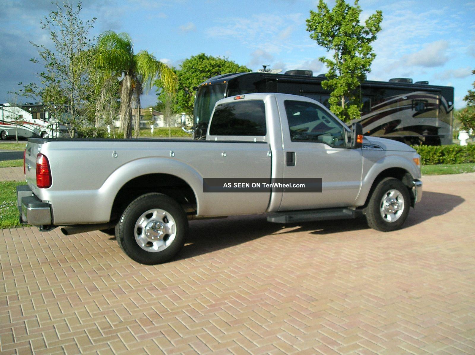 2011 ford f 250 duty xl standard cab pickup 2 door 6 2l. Black Bedroom Furniture Sets. Home Design Ideas