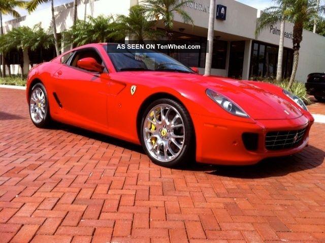 2008 Ferrari 599 Gtb Fiorano Coupe 2 - Door 6.  0l 599 photo