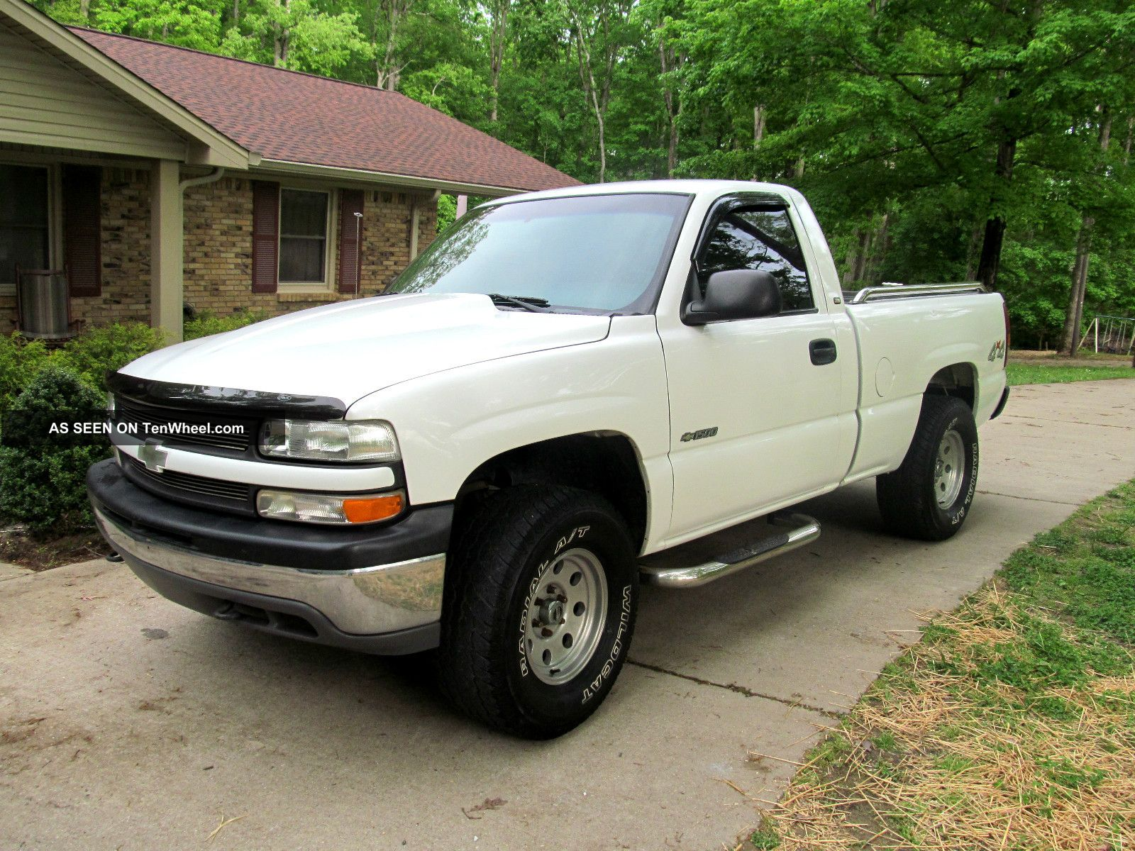 2000 chevrolet silverado 1500 base standard cab pickup 2 door 4 3l. Black Bedroom Furniture Sets. Home Design Ideas