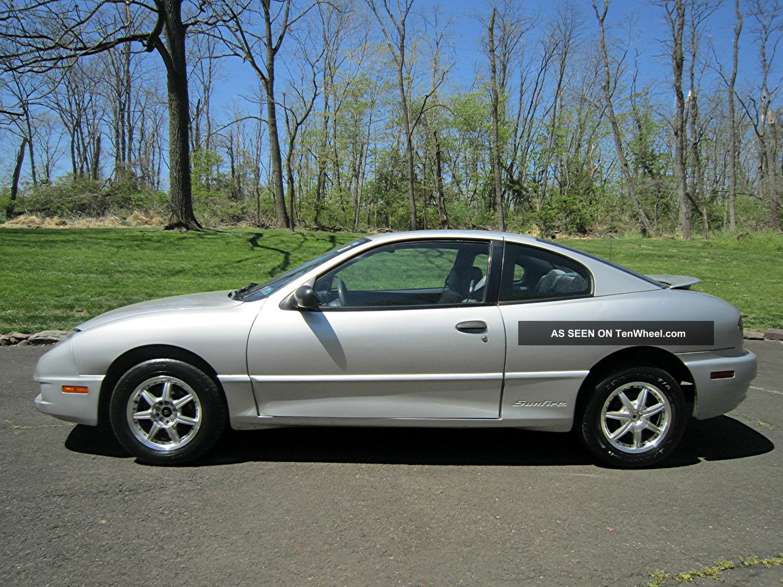 2003 pontiac sunfire gt coupe 2 door 2 2l with tenwheel