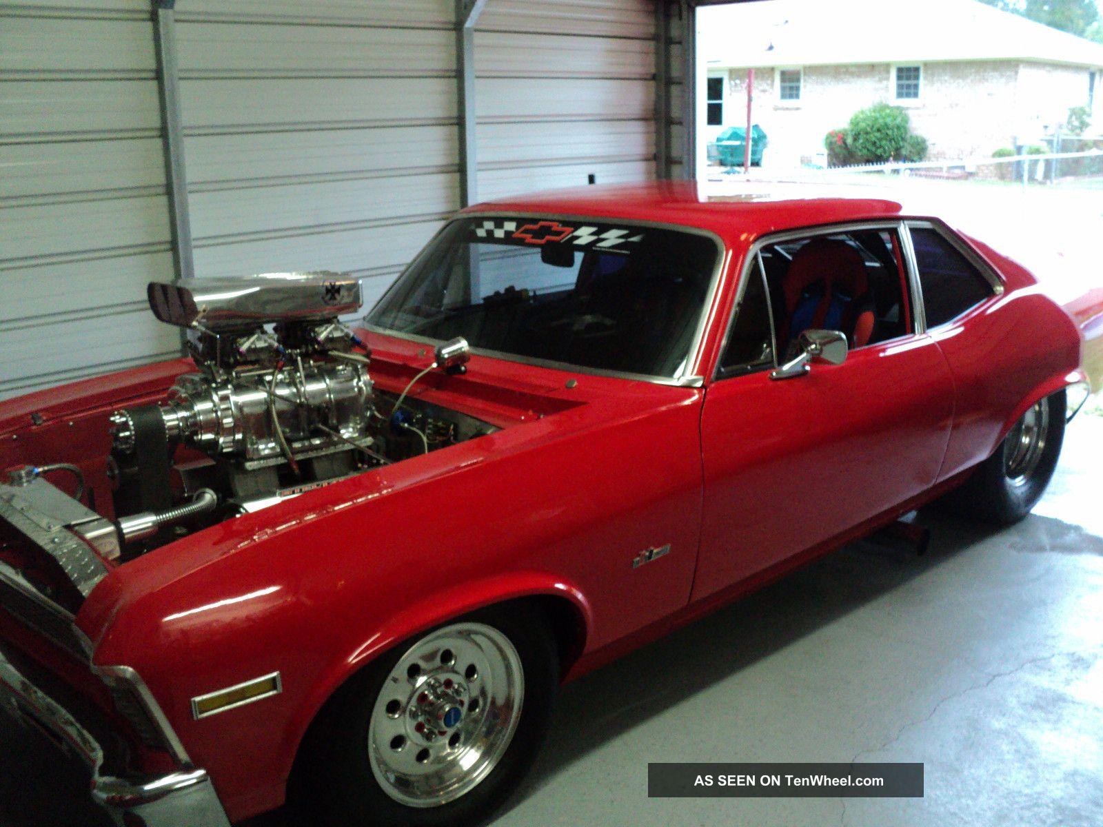 1972 chevrolet prostreet nova 358 blower motor 750 hp GM Motors