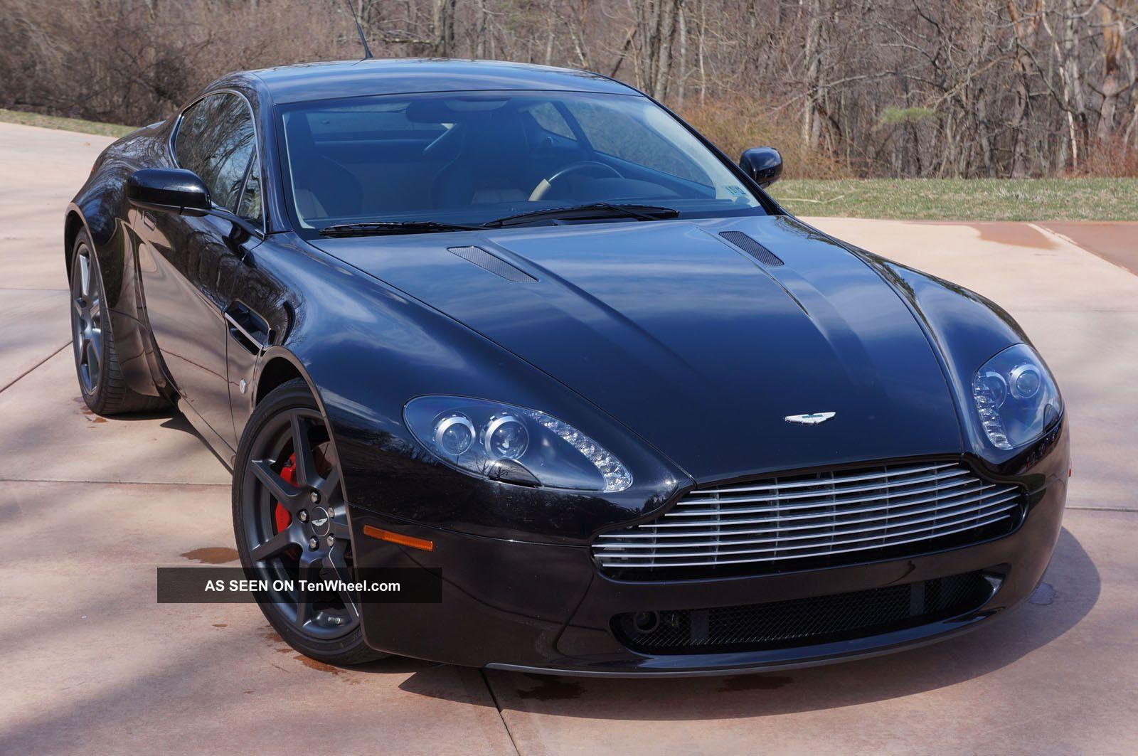 2007 aston martin vantage rare options vantage photo. Cars Review. Best American Auto & Cars Review