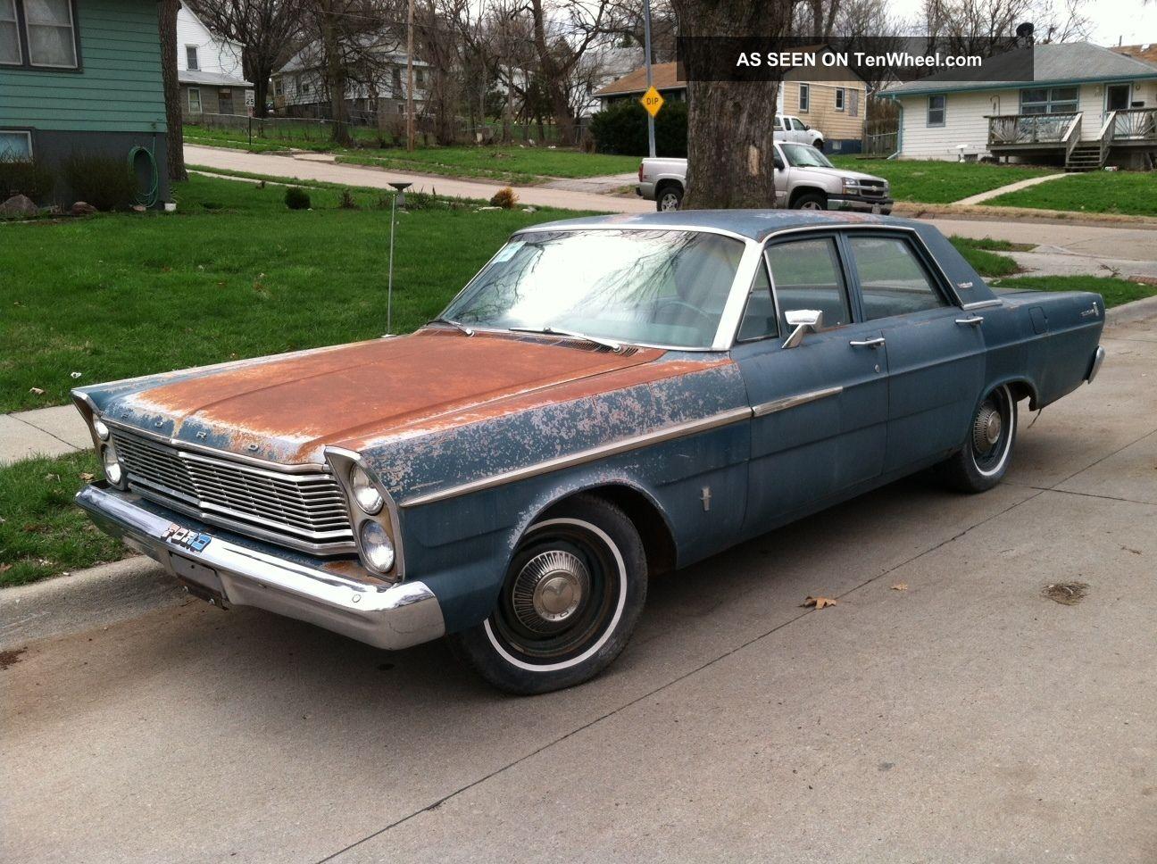 1965 Ford Galaxie Custom - Just Like The