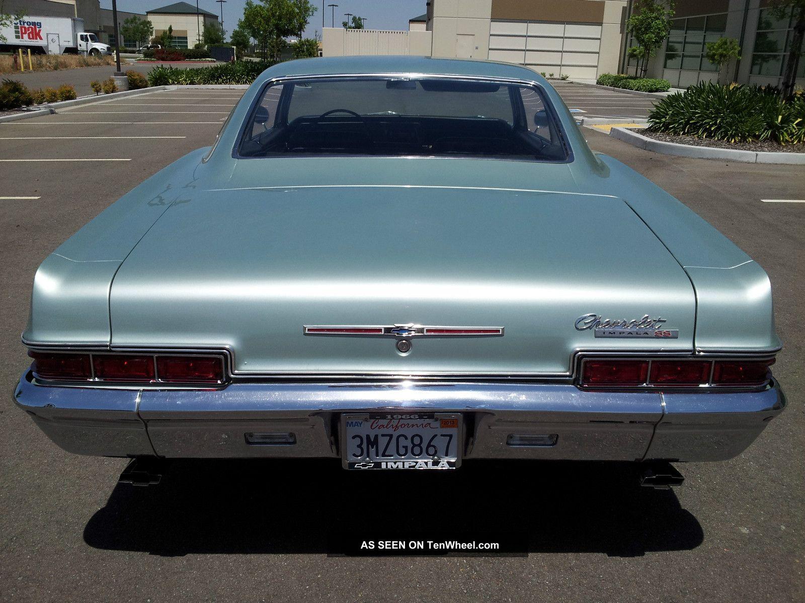 1966 Chevy Impala Ss Rare 2 Owner, Garage Find, Impala photo 10
