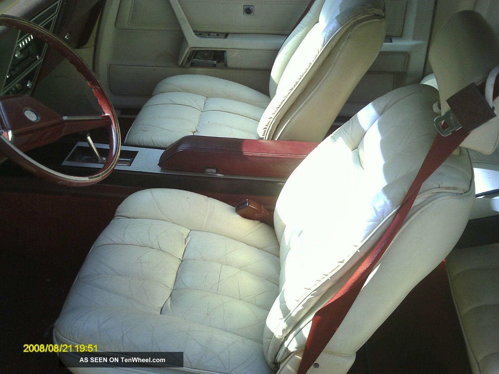 Dodge Mirada Interior 23851 Trendnet 1980
