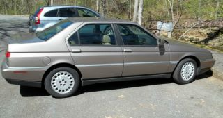 1995 Alfa Romeo 164 Ls Sedan 4 - Door 3.  0l V6 5 Speed Manual photo