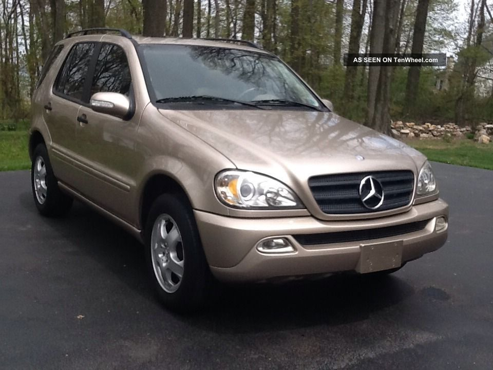 2002 ml320 for 2002 mercedes benz suv