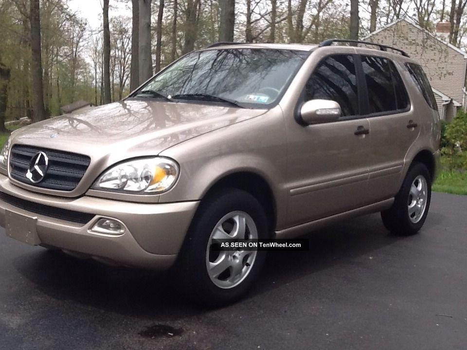 2002 ml320 for Mercedes benz ml 320 2002
