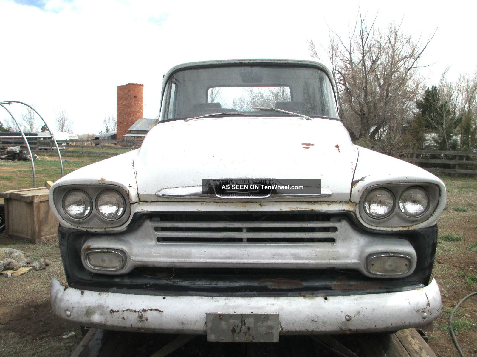 1958 Chevy Chevrolet Apache 32 Pickup Truck 1 / 2 Ton Key & Title Other Pickups photo