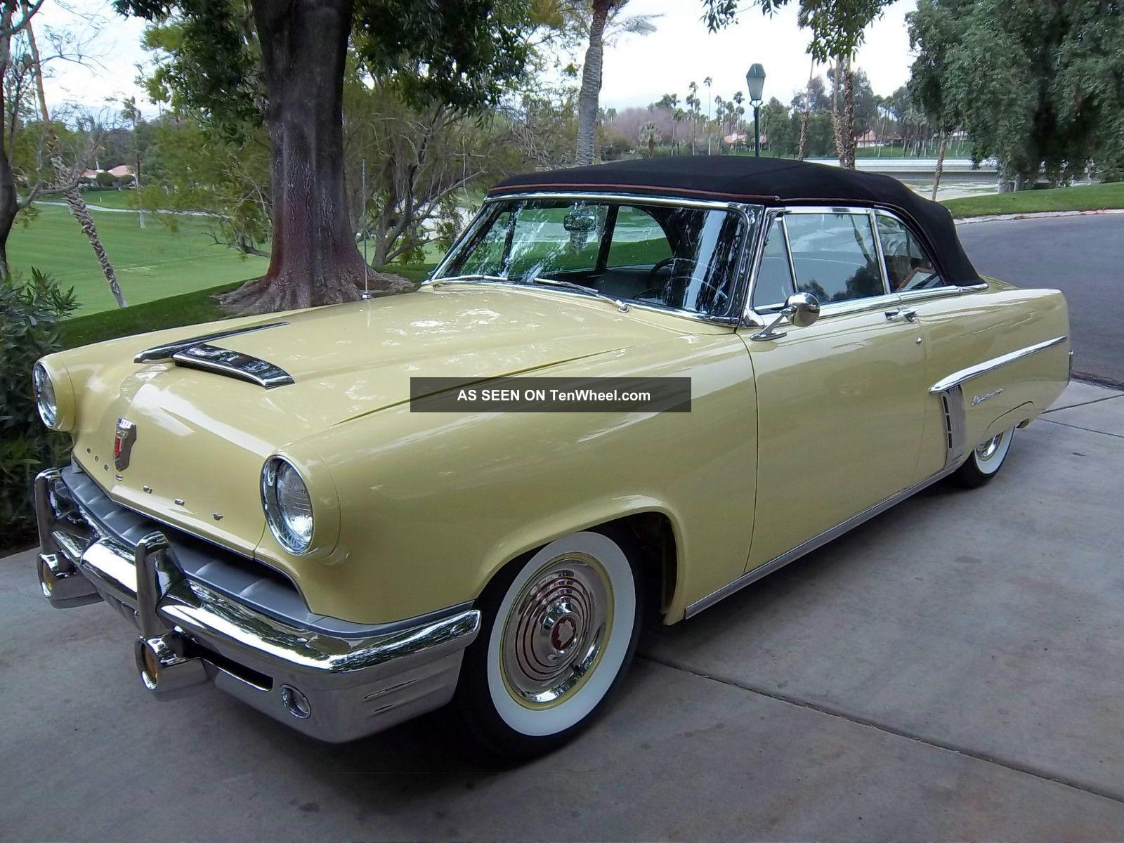 1952 Mercury Monterey Convertible Frame Off