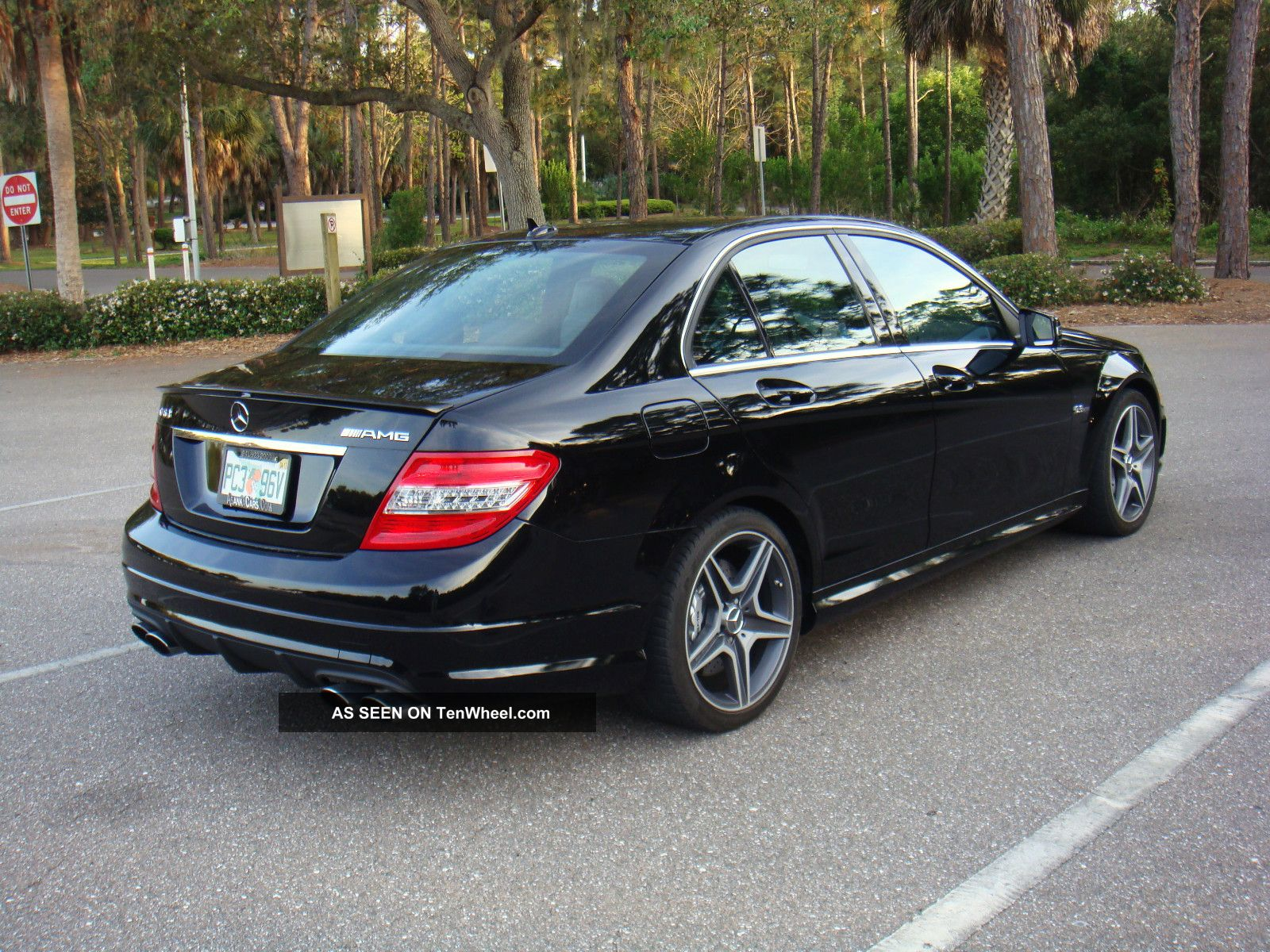 2010 mercedes benz c63 amg sport sedan 4 door 6 3l